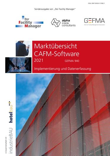 Marktübersicht der CAFM Software 2021