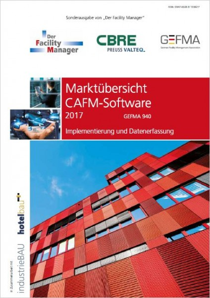 Marktübersicht CAFM Software 2017 digital