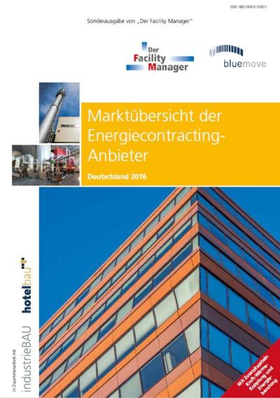 Marktübersicht der Energiecontracting Anbieter 2016
