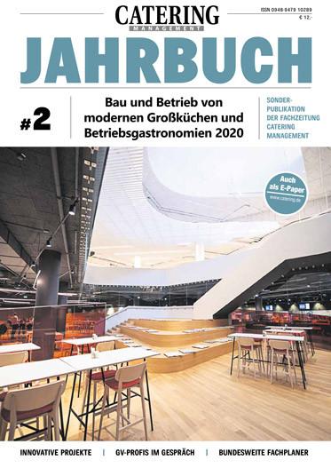 Jahrbuch Bau und Betrieb von modernen Großküchen und Betriebsgastronomien 2020